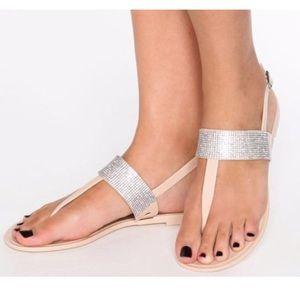 ALDO Sparkly Nude Sandals!